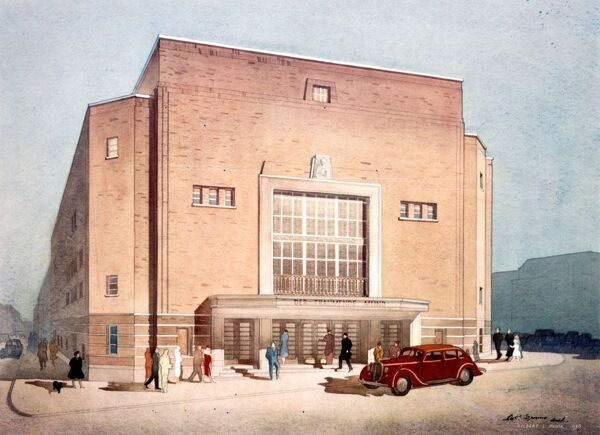 RITZ CINEMA, OXFORD Architect: Robert Cromie