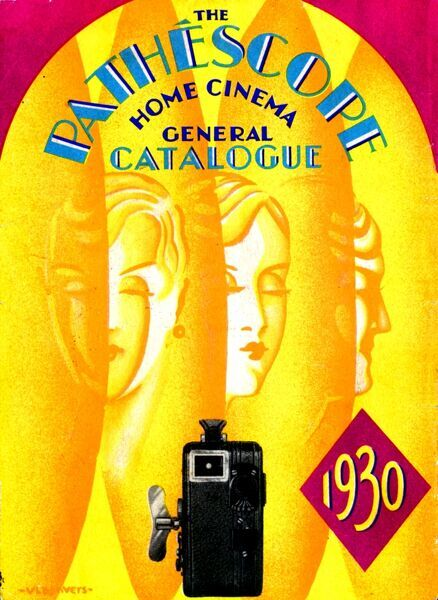 1930 PATHESCOPE CATALOGUE OF HOME MOVIE CAMERAS, PROJECTORS AND ACCESSORIES FOR 9.5mm FILMS