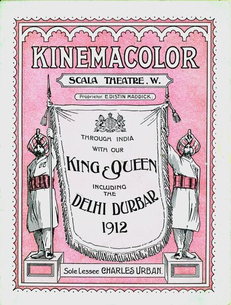 KINEMACOLOR AT THE SCALA THEATRE, CHARLOTTE STREET, LONDON