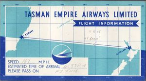 Tasman Empire Airways Aukland